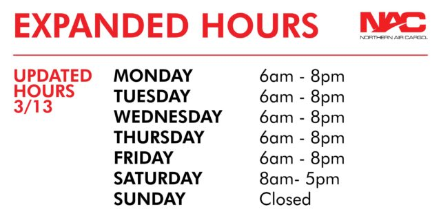 NAC Expanded Hours 3/13